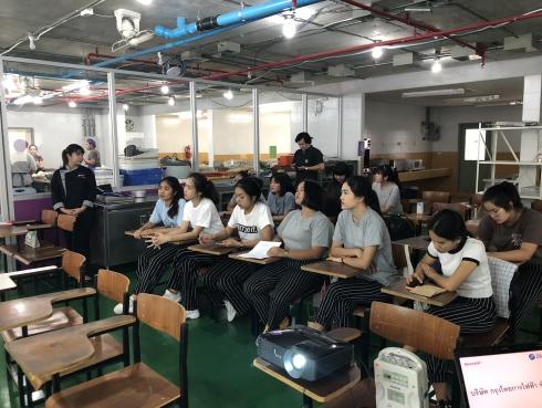 Cooking Class @ คณะวิทยาศาสตร์และเทคโนโลยี สาขาวิชาคหกรรมศาสตร์ มหาวิทยาลัยราชภัฎบ้านสมเด็จเจ้าพระยา