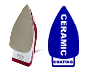 ผิวหน้าเตารีดเคลือบเซรามิก (Ceramic Coating)