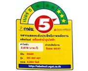 ฉลากประหยัดไฟเบอร์ 5 (WH-HOT HOT)