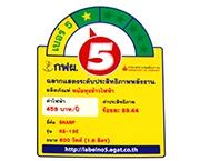 ฉลากประหยัดไฟเบอร์ 5 (KS-19E)