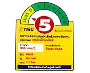 ฉลากประหยัดไฟเบอร์ 5 (KP-20BT)