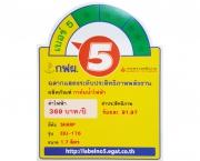 ฉลากประหยัดไฟเบอร์ 5 (EKJ-176)